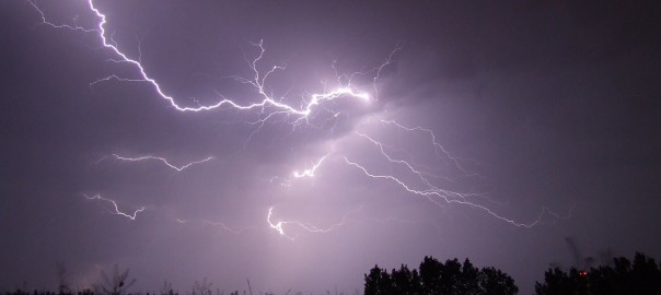Staying Safe in a Lightning Storm